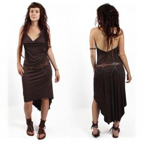 """Trisha"" dress, Chocolate"