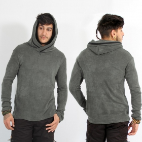 """Arun"" sweater, Grey"