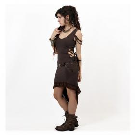 """Kazumi"" dress, Brown"