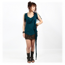"""Chainat"" tunic top, Teal"