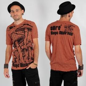 """""""Magic mushroom"""" t-shirt, Orange"""