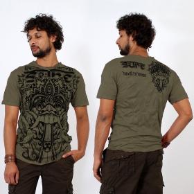 """""""Bali Dragon"""" T-shirt, Khaki green"""
