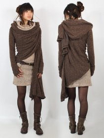 """Danaeriz"" shawl, Brown"