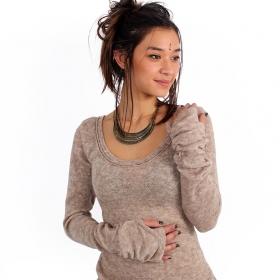 """""""Ysïs"""" pullover, Beige"""
