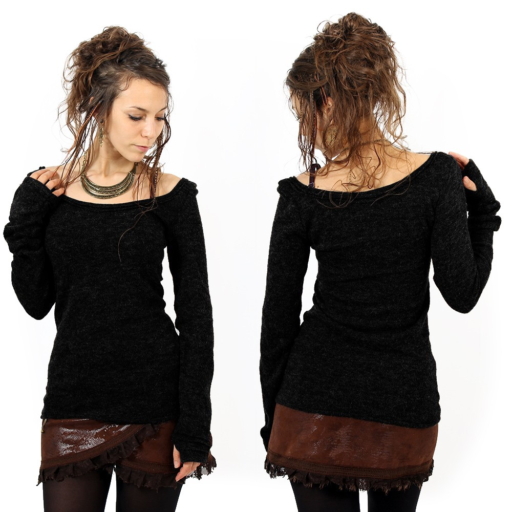 """Ysïs"" pullover, Black"