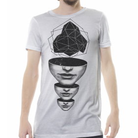"""Master Mind"" t-shirt, Off White"
