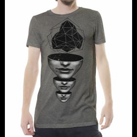 """""""Master Mind"""" t-shirt, Mottled beige"""