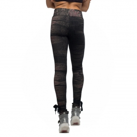 """Crystal High"" leggings, Black"