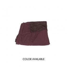 """Malee"" skirt, Auburn brown"