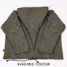 "Jacket dwarfhood GadoGado ""Aroa"", Khaki green black"