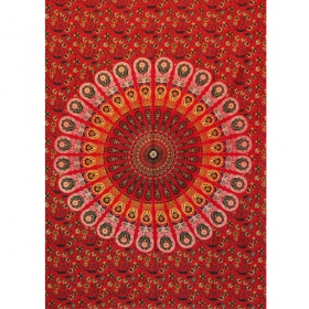 """Badmeri 06"" mini hanging, Red"