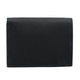 Leather card holder, Black