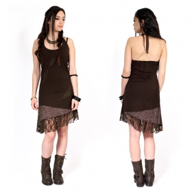 """Tarmy"" dress, Dark brown"