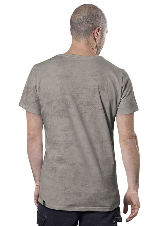 """Little bro"" t-shirt, Mottled beige"