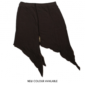 """""""Double Pointed"""" mini skirt, Brown"""