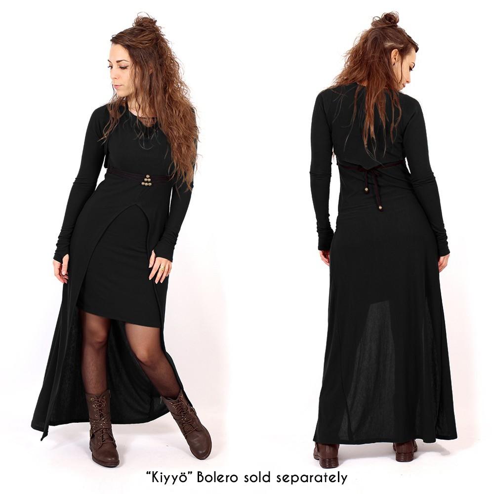"""""""Azeälya"""" long dress, Black"""