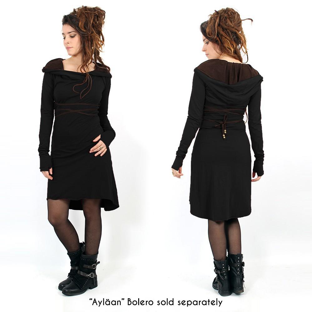 """""""Liskä"""" short dress, Black"""