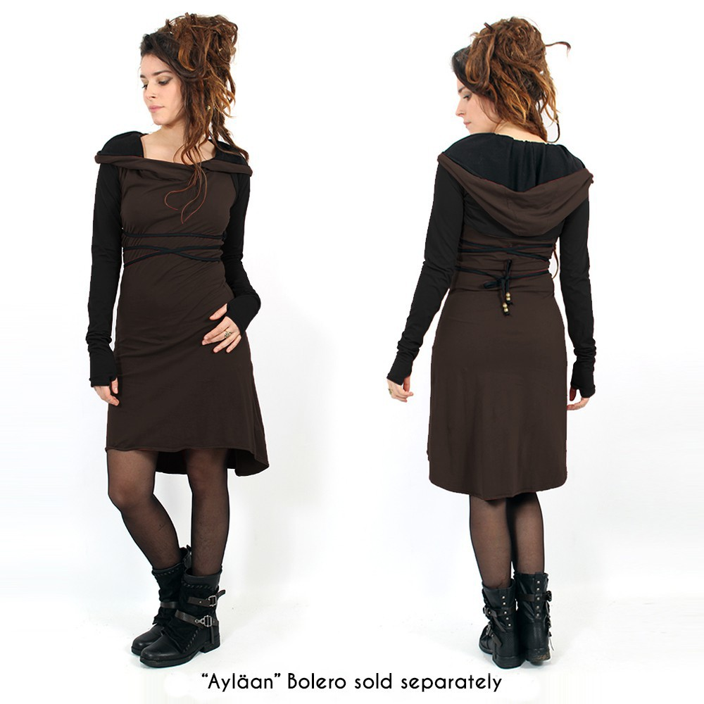 """Liskä"" short dress, Brown"