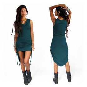 """Lychandra"" long dress, Teal"