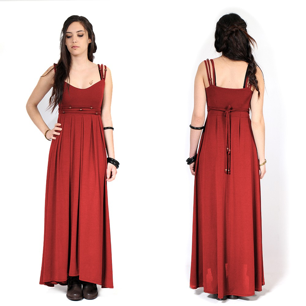 """Massaläa"" long dress, Red"