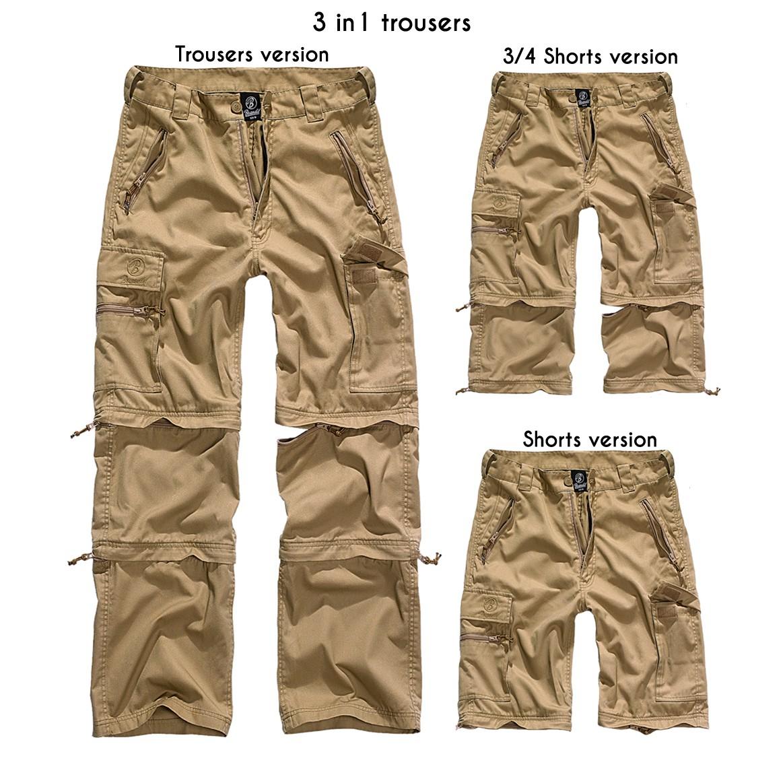 """Savannah Cargo"" 3in1 combat trousers, Beige"