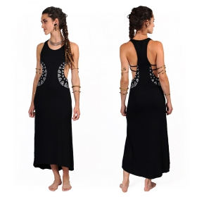 """Sharvari"" long dress, Black"
