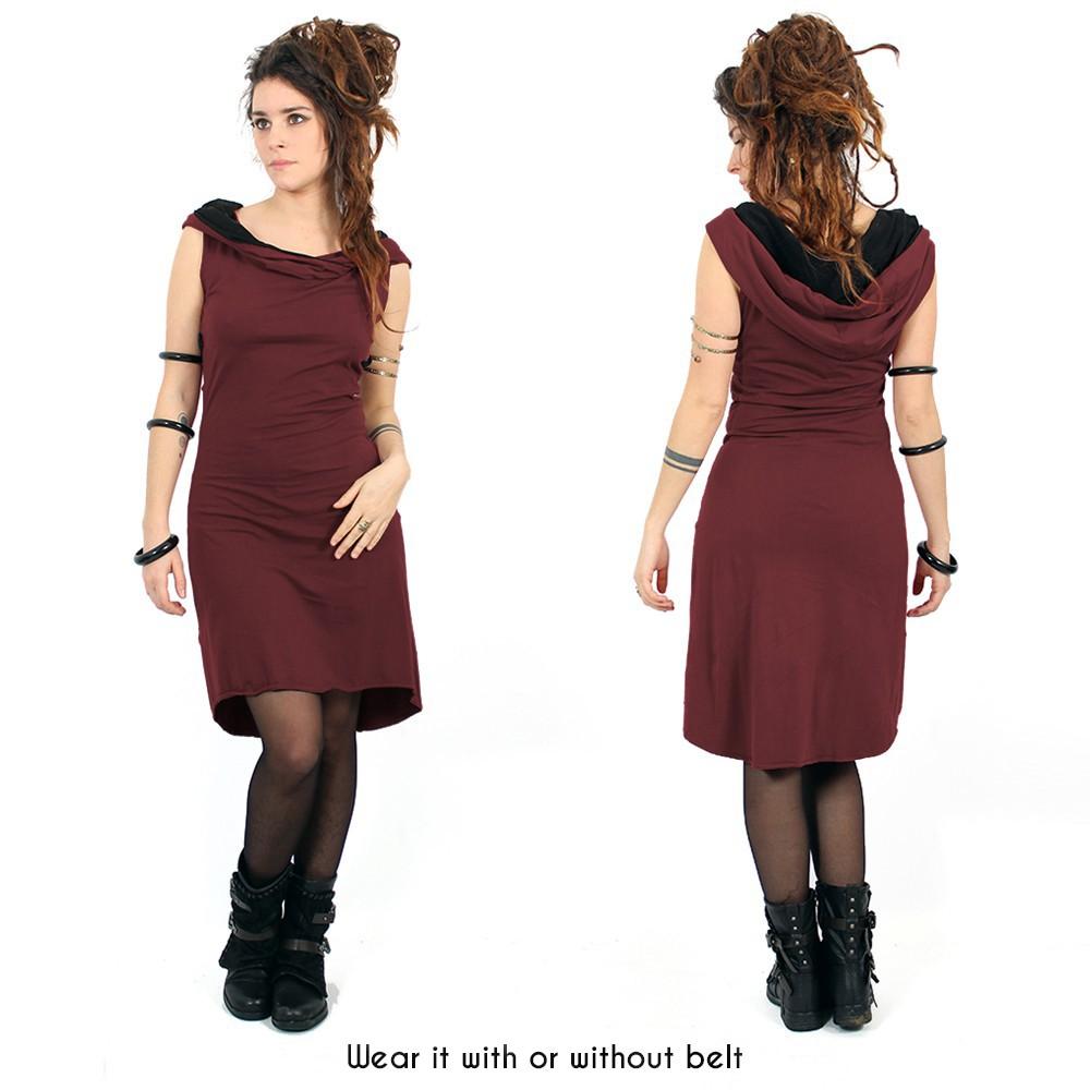 """""""Liskä"""" short dress, Wine"""
