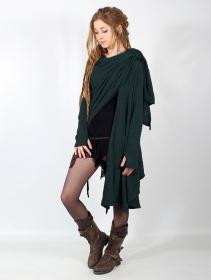"""Danaeriz"" thin shawl, Teal"