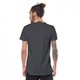 """Yogi Traveller"" t-shirt, Steel"
