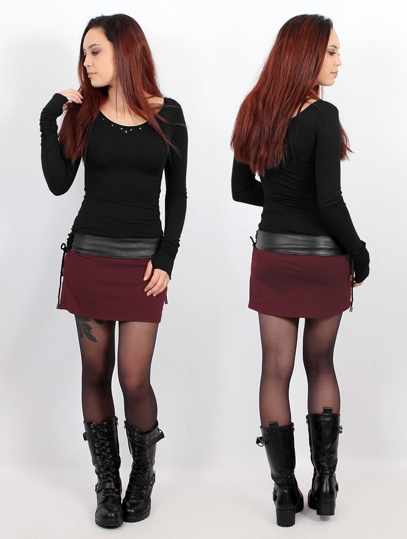 """Eellaï"" skirt, Wine"