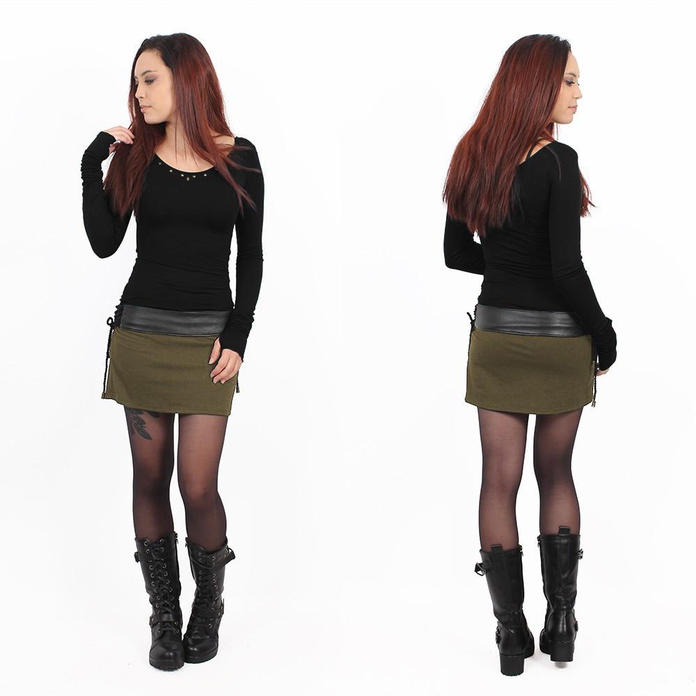 """""""Eellaï"""" skirt, Army green"""