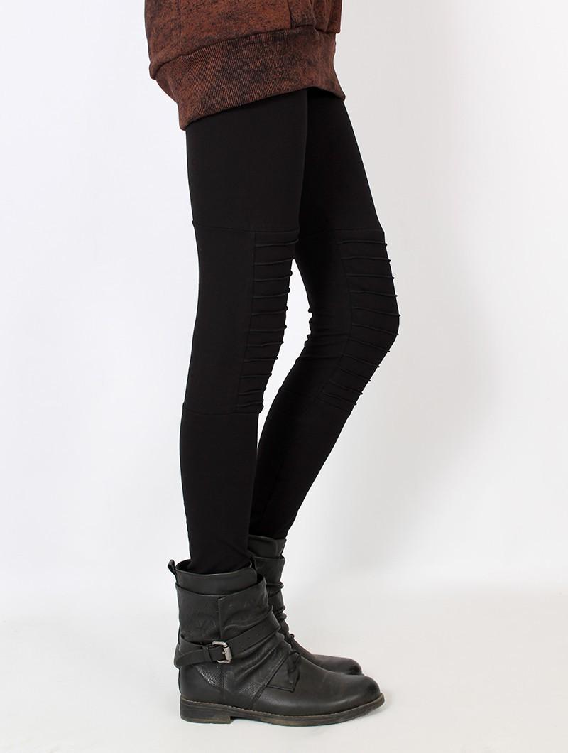 """Lilith"" long leggings, Black"