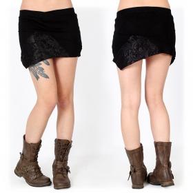 """Patchwork"" mini skirt, Black"
