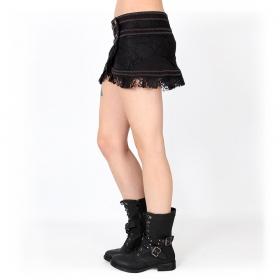 """""""Wrap Amrita"""" mini skirt, Black"""