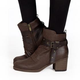 """""""Akhila"""" boots, Brown"""