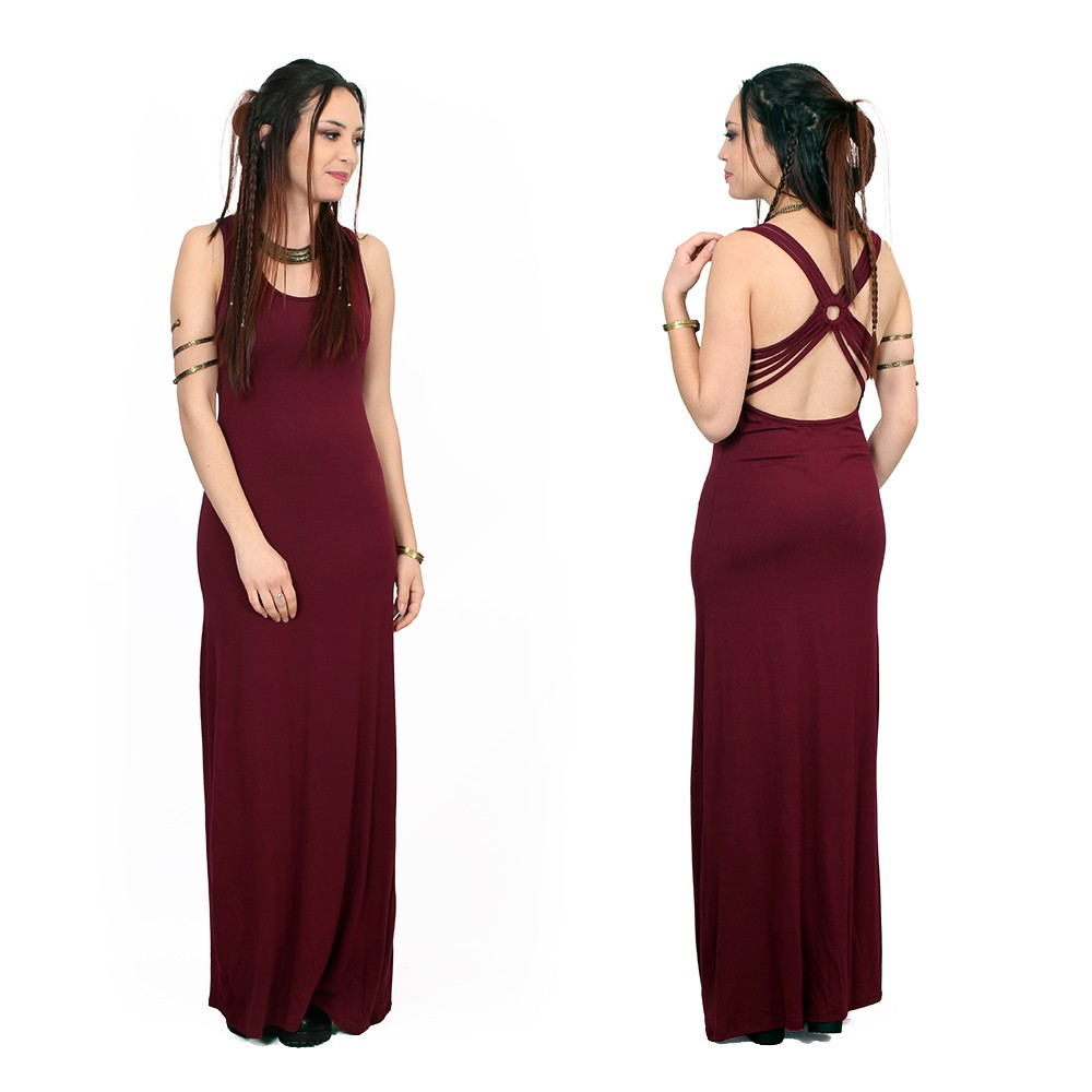 """Ozalee"" dress, Wine"