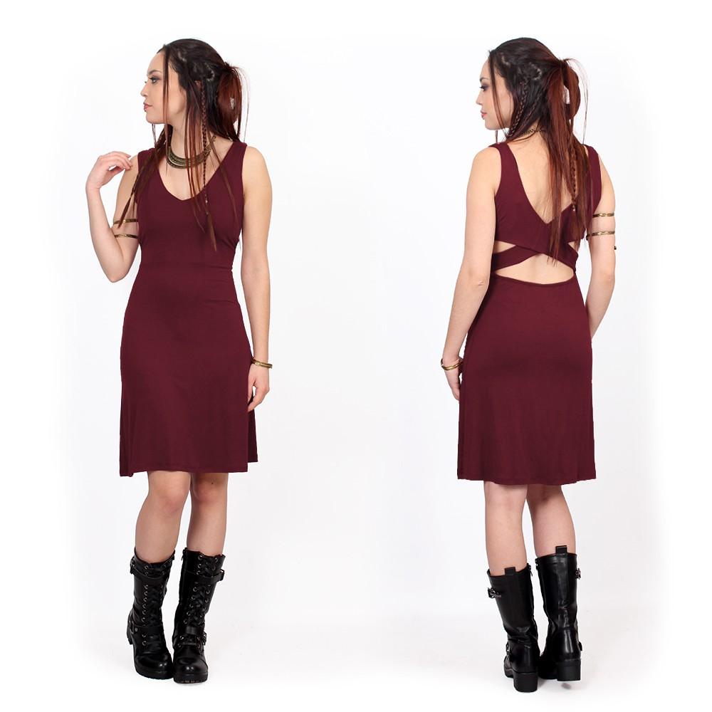 """""""Winona"""" dress, Wine"""