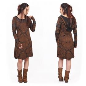 """""""Inanna Africa"""" dress, Sienna"""
