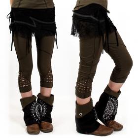 """Aswad"" short leggings, Khaki"