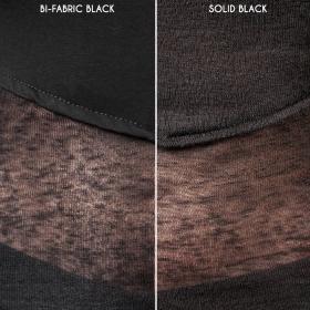 """Azmiyäa"" top, Plain black"