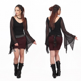 """MoonSpell"" top, Black"