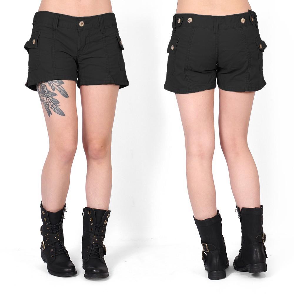 Molecule shorts, Black