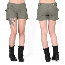 Molecule shorts, Khaki green