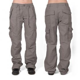 Molecule gender free baggy pants, Grey