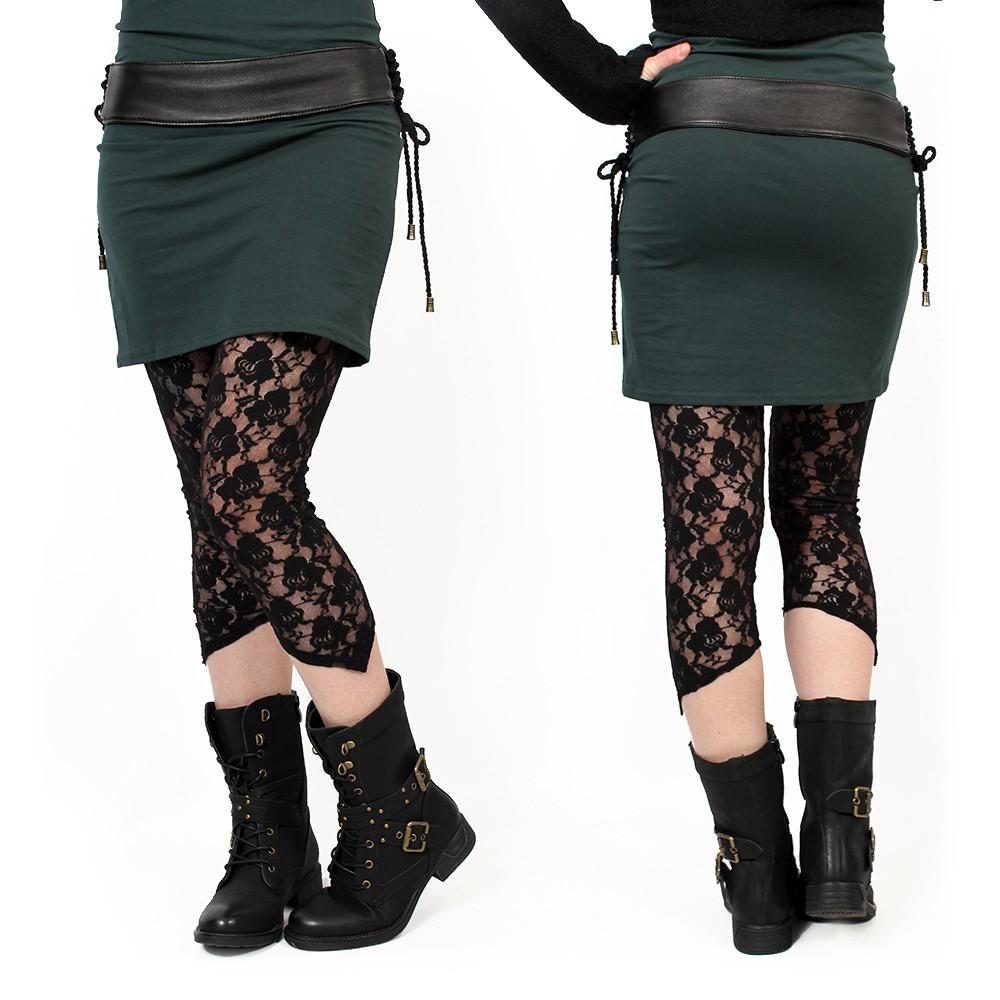 """Yaö-li"" short leggings, Black"