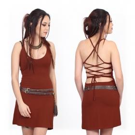 """Sunee"" dress, Brick"