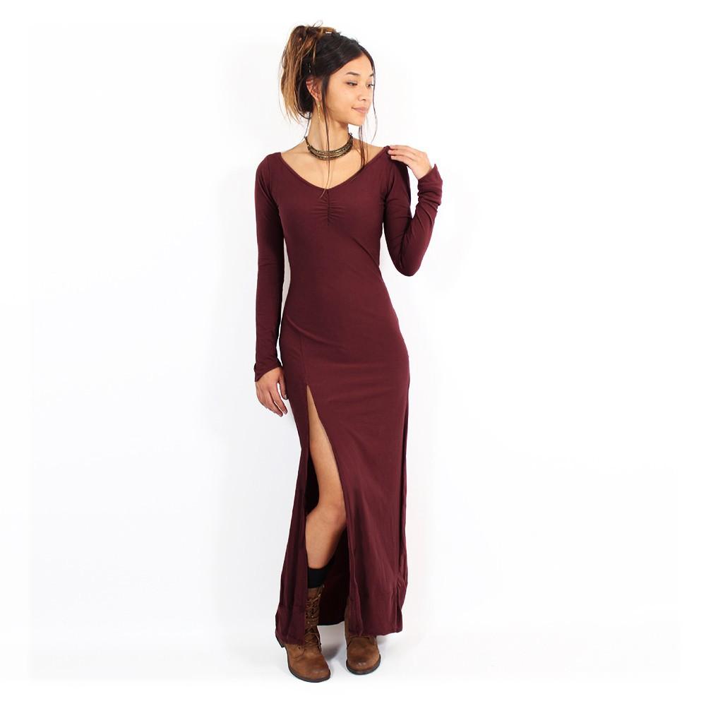 """Aryäa"" dress without lacing, Wine"