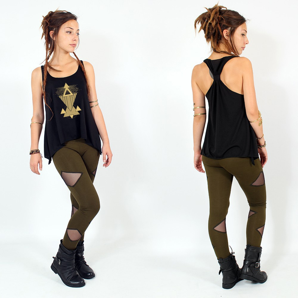 """""""Tuhina"""" knotted tank top"""