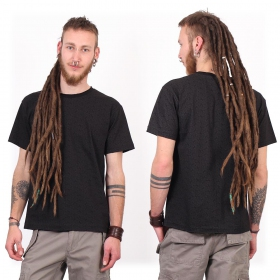"""Amun Swastika"" short sleeves t-shirt, Black"