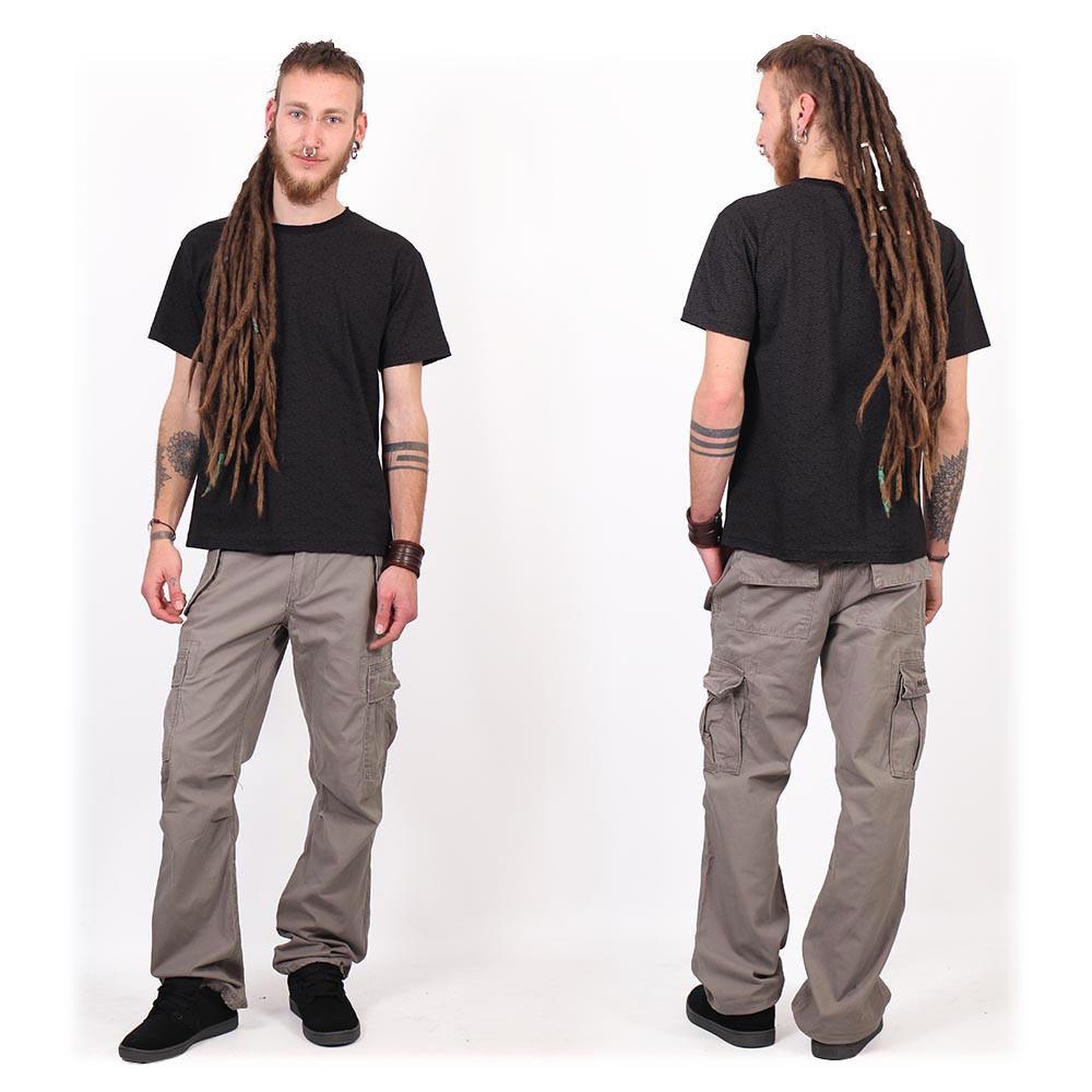 """Amun Swastika"" short sleeves t-shirt, Black"